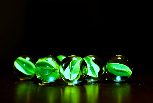 green marbles4
